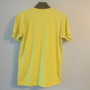 Fruit of the Loom Shirts - Vintage Yellow Smoke Park T-Shirt. Medium